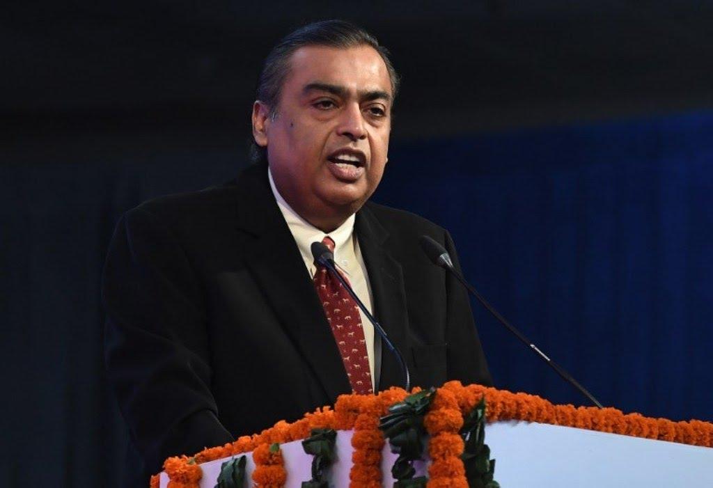 Mukesh Ambani, chairman of Reliance Industries Ltd. Photo: AFP