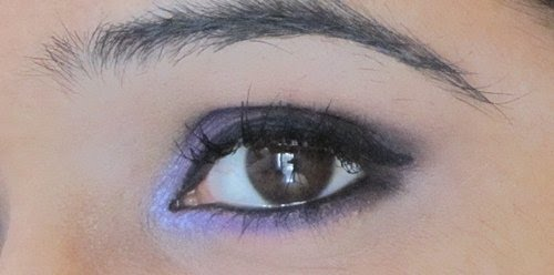 Smokey Purple Eye Makeup Tutorial 13