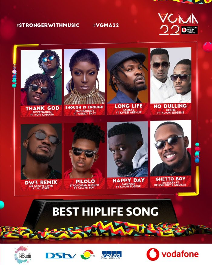 Nominees for VGMA 2021