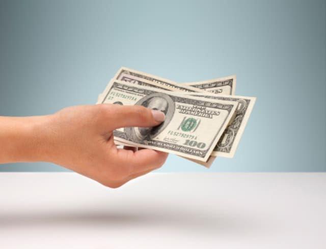 depósitos en efectivo