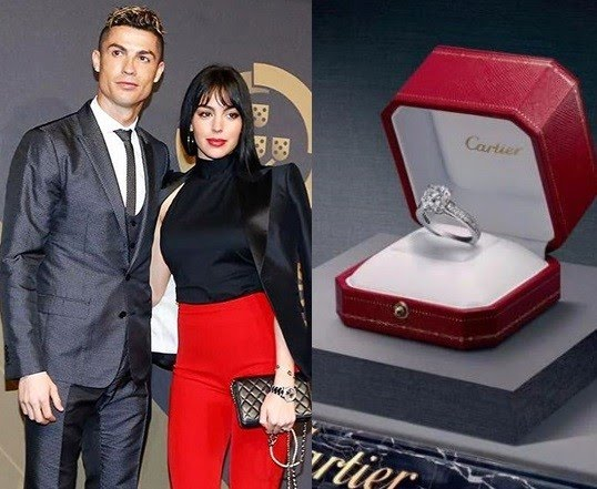 Cristiano Ronaldo reportedly engages girlfriend Georgina Rodriguez with